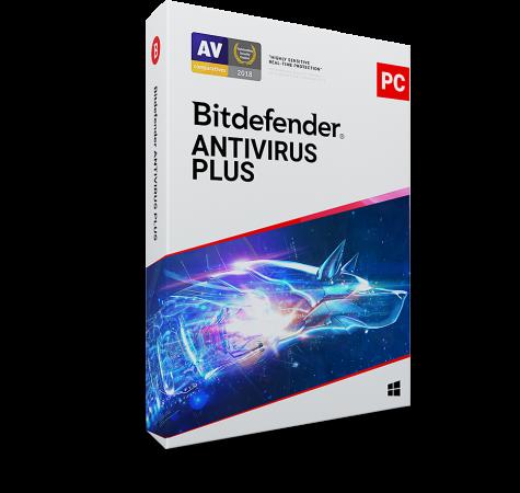 Bitdefender Antivirus Plus , Εως 1 PC, 1 Έτος