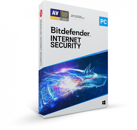 Bitdefender Internet Security , Εως 1 PC, 1 Έτος