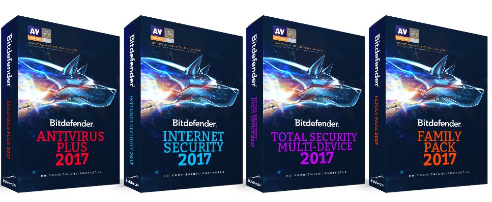 Bitdefender Consumer 2017