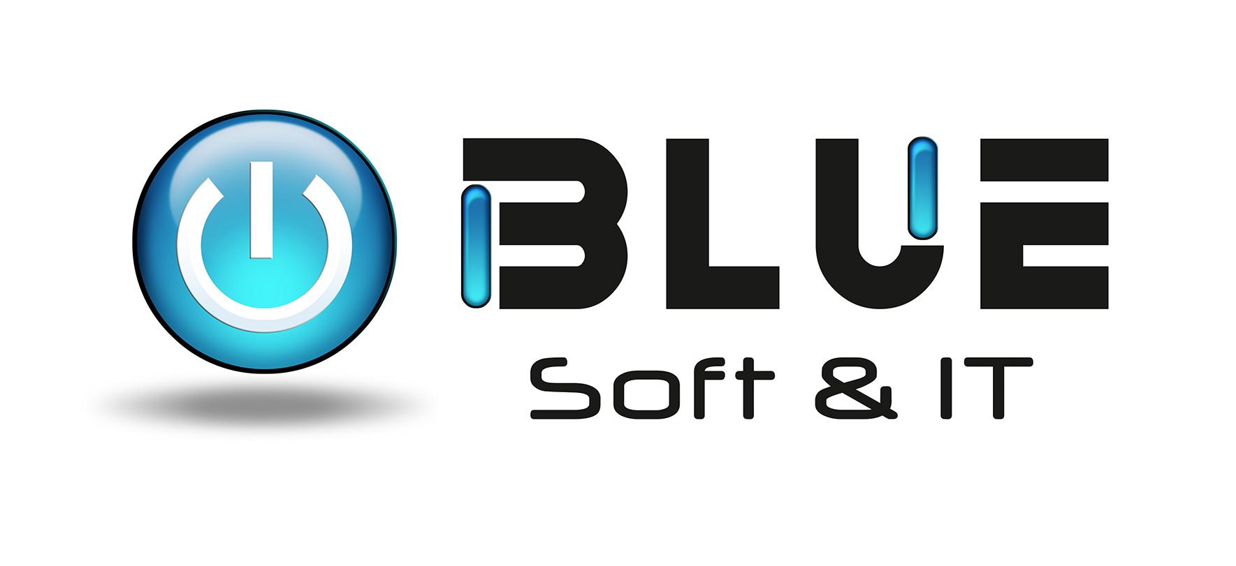 Blue Soft & IT Logo